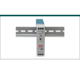 REPOTEC 24V / 24W Single Output Industrial DIN Rail Power Supply | RP-IDR20-24