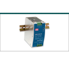REPOTEC 48V / 240W Single Output Industrial DIN Rail Power Supply | RP-IDR240-48