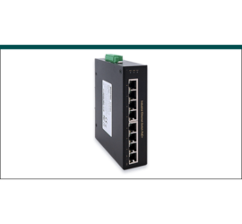 REPOTEC 8-P fast ethernet PoE Industrial Switch | RP-IPE800