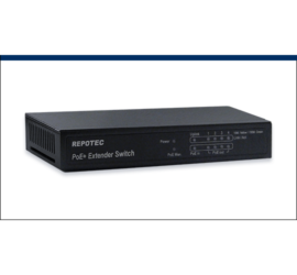 REPOTEC 10/100M 802.3at PoE Multi-Port Extender Switch | RP-PE0504X