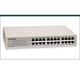 REPOTEC 24-P Fast Ethernet Switch | RP-1724DR