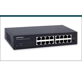 REPOTEC 16-P Gigabit Ethernet Switch | RP-G1416D