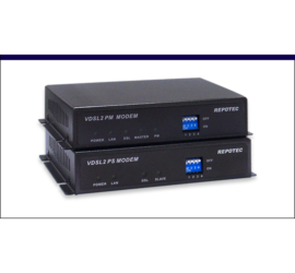 REPOTEC Ethernet over VDSL2 Line power Extender | RP-VC102EK