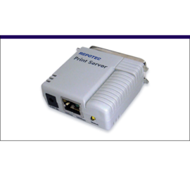 REPOTEC 1-Parallel Fast Ethernet Print Server | RP-2801