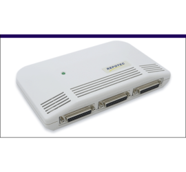 REPOTEC 3-Parallel Fast Ethernet Print Server | RP-2803