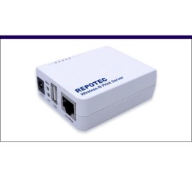 REPOTEC wireless print server | RP-WUP211