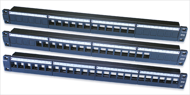 19inch Modular Patch Panel Wiring System Repotec Co Ltd