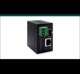 REPOTEC 10/100Base-TX to 100Base-FX Industrial Media Converter | RP-IMC601FP