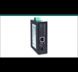 REPOTEC 10/100/1000Base-TX to 100/1000Base-X SFP Industrial Media Converter | RP-IMC801FP