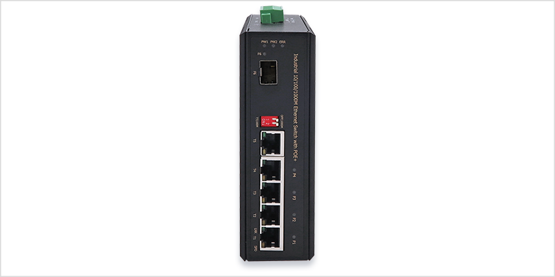 Industrial Poe Switch Rp Ipg411 12v Repotec