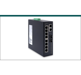 REPOTEC 8-P Gigabit PoE + 2-1000M TP/ SFP combo Industrial PoE+ Switch | RP-IPG882C