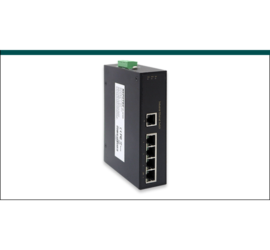 REPOTEC 5-P 10/100TX Industrial Ethernet Switch | RP-ISF500