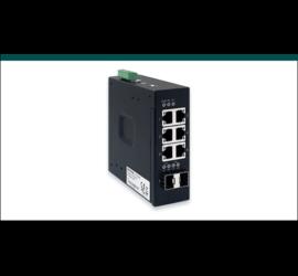 REPOTEC 6-P Gigabit +2-SFP(100/1G) slot slim type Industrial Switch | RP-ISG602F