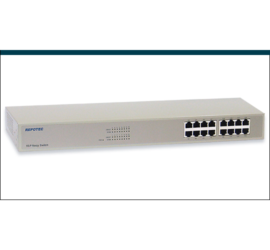 REPTOEC 16-P Fast Ethernet Switch | RP-SW16P