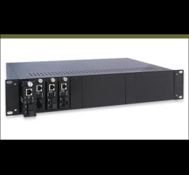 REPOTEC 14-Slot Media Converter Rack | RP-MCR314
