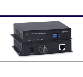 REPTOEC Coaxial over VDSL2 PoE Converter | RP-VC102CP