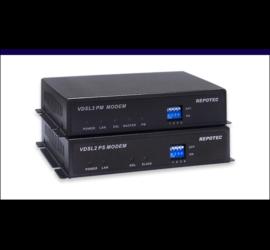 REPOTEC Ethernet over VDSL2 Line power Extender | RP-VC102EK