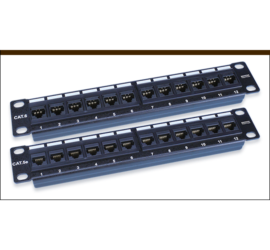 REPOTEC 10inch Unshield Patch Panel