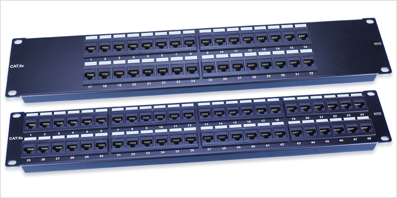 Prime Wiring System 19Inch Unshield Patch Panel Repotec Wiring Cloud Hisonuggs Outletorg