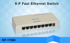 REPOTEC Fast Ethernet Switch