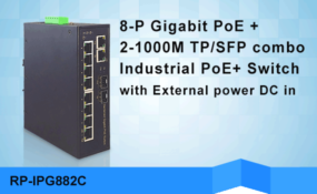 REPOTEC Industrial PoE Switch