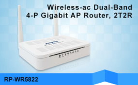 REPOTEC Wireless-ac Dual-Band AP Router | RP-WR5822